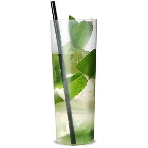 Slim jim tumbler, bicchieri per cocktail highball, in polipropilene, 300ml, pacco da 10; bicchieri...