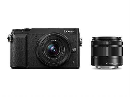 Panasonic Lumix DMC-GX80WEGK Fotocamera Digitale Mirrorless, 16 Megapixel, Capacità di Filmare 4K,...