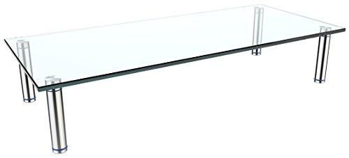 RICOO Supporto da tavolo per TV Montaggio FS6528-C Staffa per televisore base piatto piedistallo...