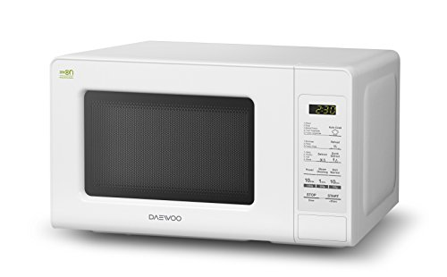 Daewoo KOR-660B Forno a Microonde 20 litri, 700 watt, Bianco
