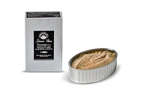 RAMON PEÑA - ventresca de atún claro en aceite de oliva OL120 pack 3 unidades
