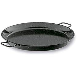 Lacor 60141- Padella per paella smaltata 40 cm