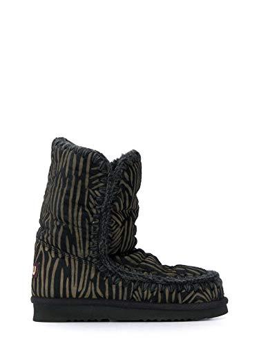 Mou Luxury Fashion Donna FW101012DBLA Nero Stivaletti | Autunno Inverno 19