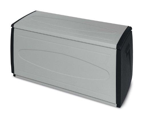 Terry 1101892 Prince Box 120 QBlack Baule in Plastica, Grigio/Nero, 120 x 54 x 57 cm