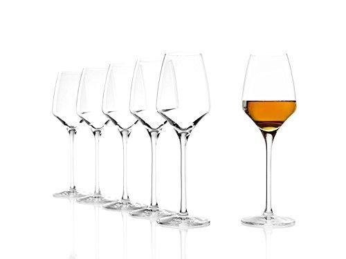 Bicchieri per vini dolci Stölzle Lausitz Experience 190ml, servizio da 6, come soffiati a bocca, lavabili in lavastoviglie