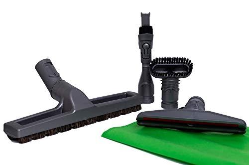 Green Label Kit di accessori per gli aspirapolvere Dyson: spazzola con setole in crine di cavallo,...