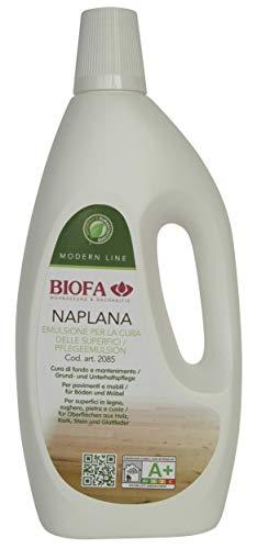 BIOFA 208510 Emulsione Cura-Cera per Pavimenti in Legno