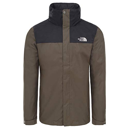 The North Face M Evolve II Tri Jkt, Giacca Impermeabile Uomo, Verde (New Taupe Green), M