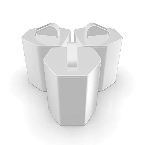 Imetec Zerocalc KF1 100 Kit 3 Filtri Anticalcare per Ferri da Stiro Imetec Zerocalc Pro Ceramic Ps2...
