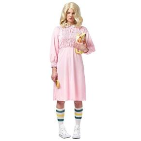Strange Girl Women's Costume, Pink: Small