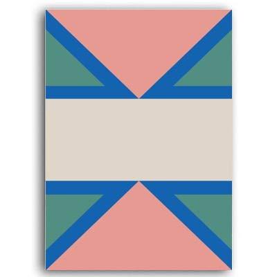 XWArtpic Galleria di Quadri su Tela Geometrica Astratta Moderna Poster e Stampe Immagini su pareti...