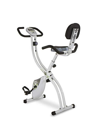 Tecnovita by BH Back Fit - Bicicleta estática plegable, Unisex adulto, color Blanco / Verde, talla Única (Reacondicionado)