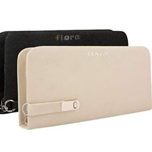 Flora Premium PU Leather Women's And Girl's Wallet Combo Of 2 (White / Black Color) 9
