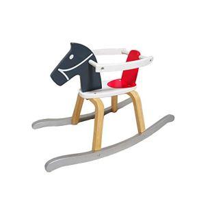 Bebé del caballo mecedora, Rocker Rocker animal del bebé del caballo mecedora mecedora determinados del cabrito del juguete del cabrito Paseo animal del caballo de oscilación del niño for los niños Ju