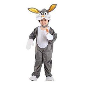 DISBACANAL Disfraz Conejo Bugs Bunny Infantil - 8 año