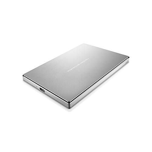 Lacie 1Tb Porsche Design 2.5'Disco Rigido Portatile USB-C, USB3 - PC/Mac