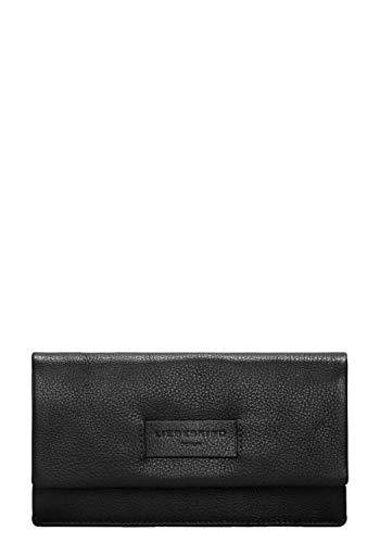 Liebeskind Berlin Damen Essential Slam Wallet Large Geldbörse, Schwarz (Black), 2x10x19 cm