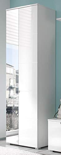 AVANTI TRENDSTORE - Spilla - Armadio da ingresso con specchio e ante a battente, in laminato di...