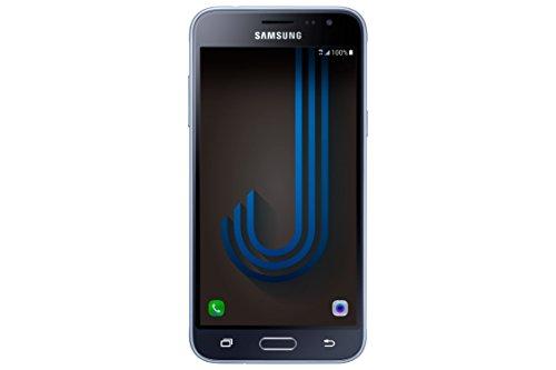 Samsung Galaxy J3, Smartphone Libre (5'', 1.5GB RAM, 8GB, 8MP/Versión Italiana: No Incluye Samsung Pay ni Acceso a promociones Samsung Members), Color Negro