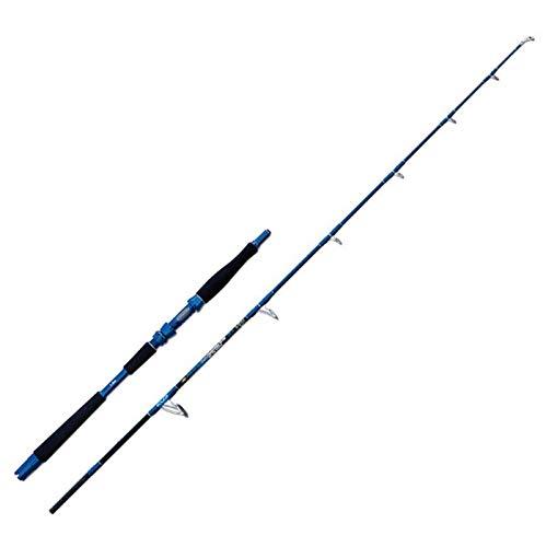 Lineaeffe Aquarex Jig Traction 12 kg 1.80 m up to 300 g Canna da Pesca Casting per Predatori in Mare Fiume e Lago in Carbonio Monopezzo Attacco per Mulinello Rotante da Casting