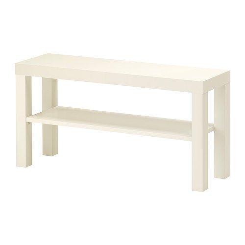 Ikea Lack - Mobile Porta-TV, Dimensioni: 90 x 26 cm, Colore Bianco