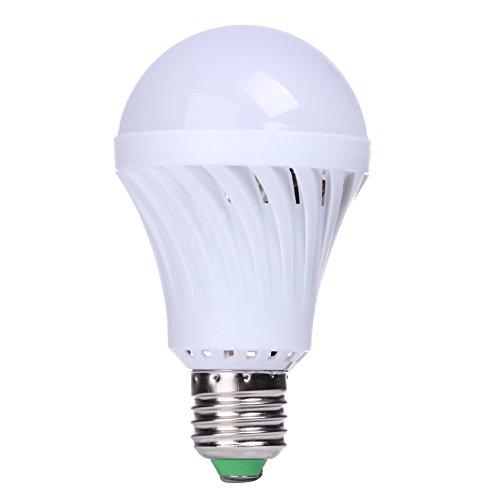 Rrimin 7W E27 85- 220V Led Bulb Sound Light Sensor Auto Smart Bulb