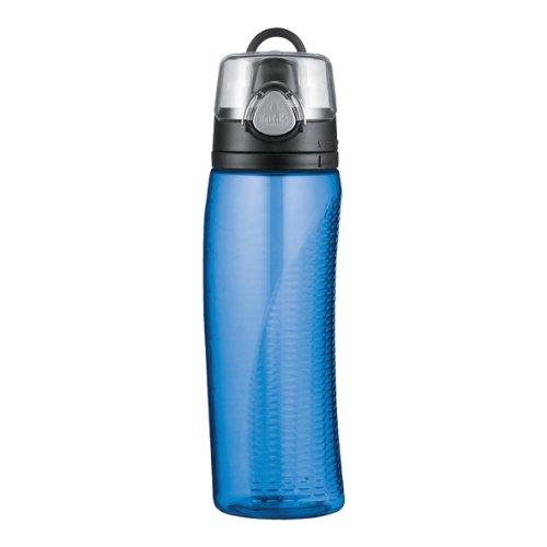 Thermos Intak Bottiglia di idratazione con misuratore - blu (710 ml)