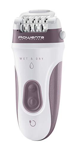 Rowenta EP8080 Skin Respect Epilatore Elettrico per Donna Wet&Dry, con 9 Accessori