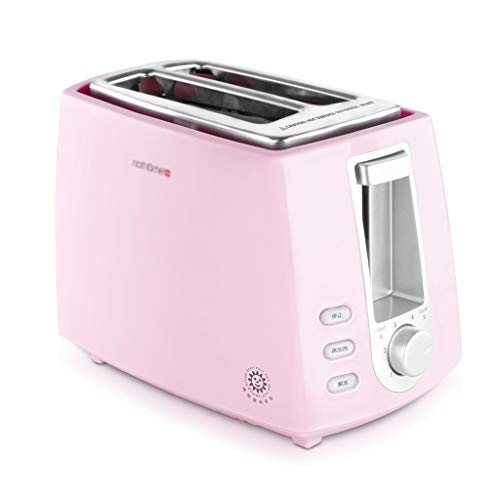 Rff Toaster 2 Slices Home Breakfast Spit Driver Mini Dormitorio Automatico Multi-Funzione Toaster...