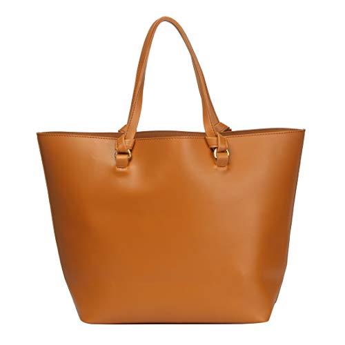 Dein Kleider Women Tote Bag (Tan)