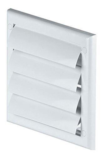 FUSSY CHOICE LTD - Reticolo di ventilazione per condotti d'aria da 100 mm, in plastica TN3, colore:...