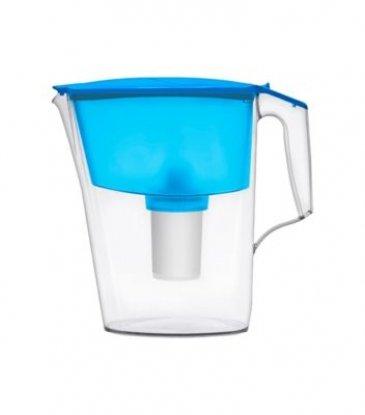 Aquaphor Standard 2.5L water filter jug with cartridges bundle (blue) (1 month of Aquaphor Classic B100-15) (1 cartridge)
