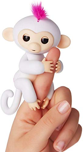 Whitewhale Fingerlings Interactive Baby Monkey Toy for Kids