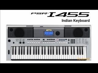 Yamaha PSRI455 Digital Keyboard, Silver