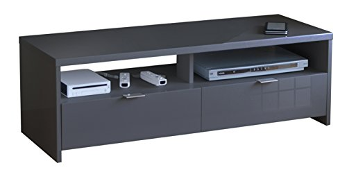 Berlioz Création, Banco, Mobile per TV, Nero, 110 x 41 x 38 cm