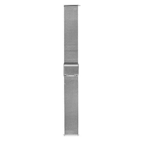 Morellato Cinturino unisex, Collezione EASY CLICK, mod. Estia, in maglia milanese in acciaio - A02X0549010