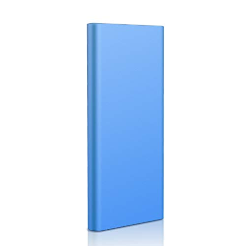 Neeta Hard Disk 1 TB Esterno Portatile Ultra Slim Type C USB 3.1 Hard Disk per PC, Mac, Windows,...