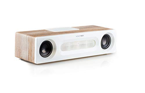 Noizzy Box Retro Vogue Vintage Classic and Powerful Sound Bar Home Theatre System with Bluetooth FM USB and AUX (Ginger White)