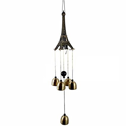 Sethi Traders Positive Energy Windchimes for Balcony Bedroom with Great Sound in Pyramid Look