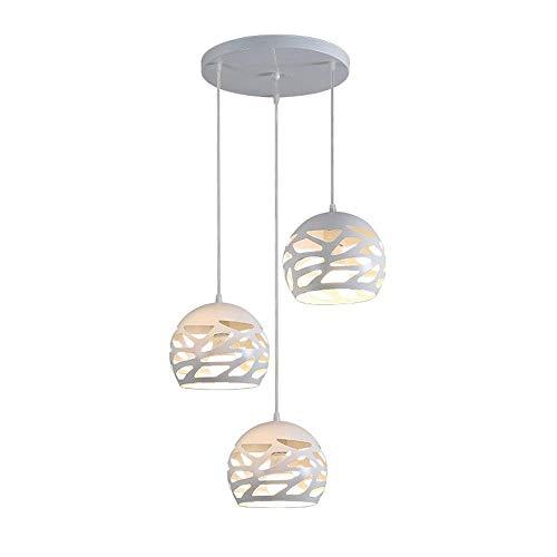 Modern Design Lampada Da Tavolo da pranzo sferica semplice lampada da soffitto in metallo lampadario...