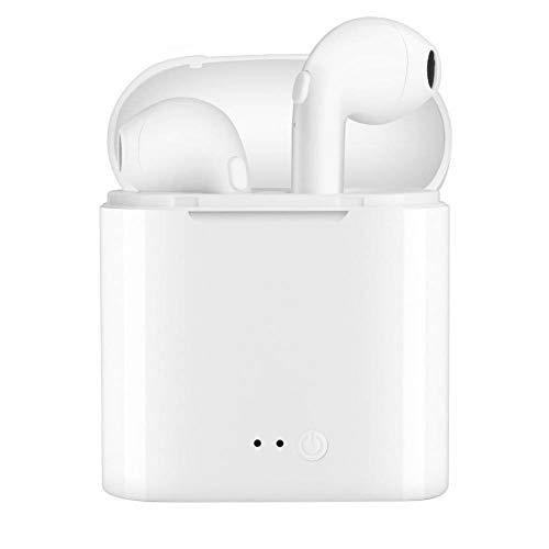 FULI Auricolare Bluetooth Auricolari Wireless Mini Headset V4.2 Microfono Stereo e HD, con Box di...
