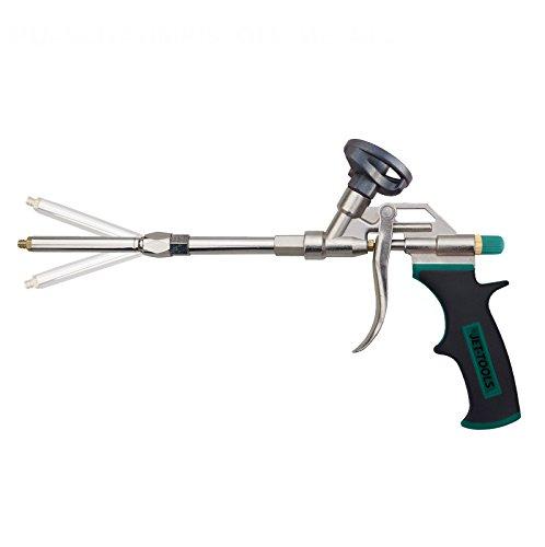 Jet Herramientas de pistola de espuma de poliuretano con stufenlos ajustable Pistola Tubo