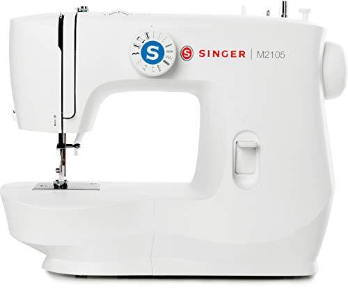 Singer M2105 Macchina da Cucire Professionale, Cucitrice Automatica, Elettrica e Portatile con 13...