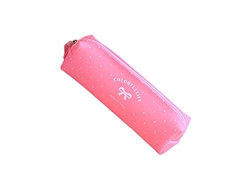 SAMGU Pencil case Candy series Astuccio per matite in silicone - rosa