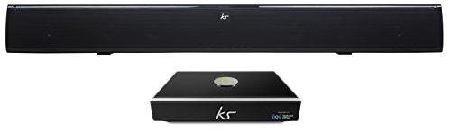 KitSound KSOVATIONLNK Ovation Slim Soundbar  / Link Multiroom Audio Wireless Music Streaming System mit Allplay und Spotify Connect im Set -