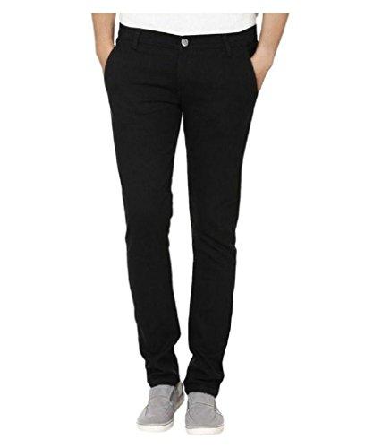 Urbano Fashion Men's Cotton Jeans (Eps-Black-38201-32_Black_32)