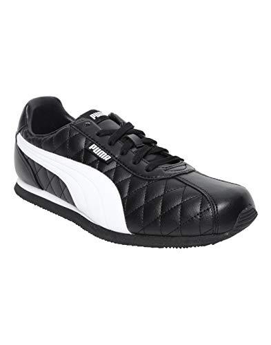 PUMA Men's Corona IDP Black White Sneakers-9 UK (43 EU) (37189102)