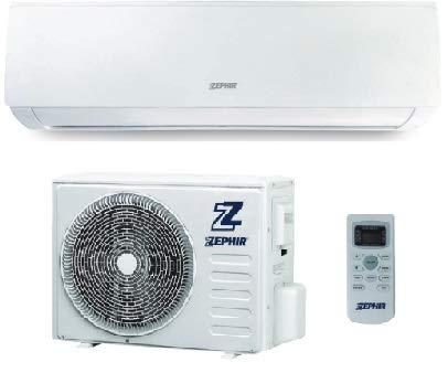 Climatizzatore 12000 Btu Inverter Classe A++/A+ R32 ZEM12000 Serie Elegance
