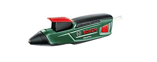Bosch Akku Heißklebepistole GluePen (Micro-USB-Ladegerät, 4x Klebestick Ultrapower, 3,6 Volt, im Karton)