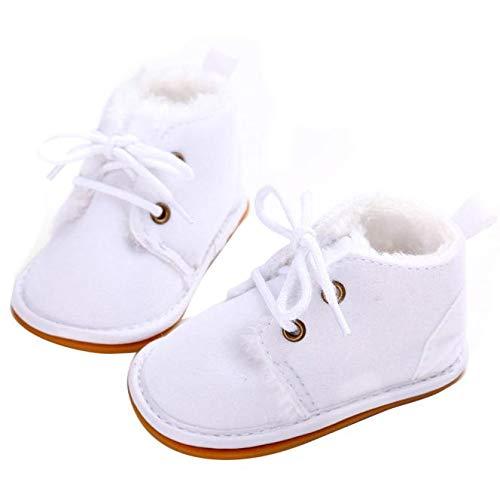 Elecenty Scarpine primi passi Scarpe di riscaldamento bambino morbido neonato